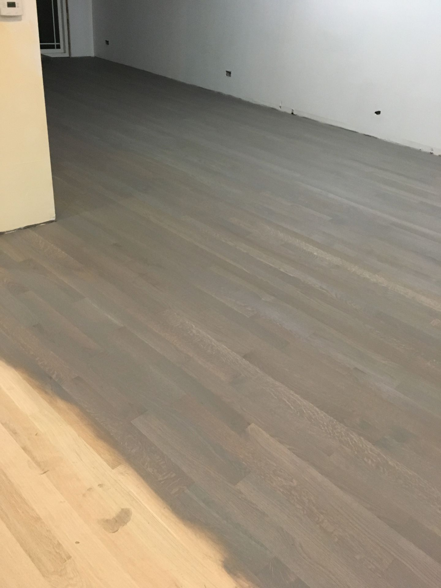 Traffic Hd Finish On White Oak Flooring